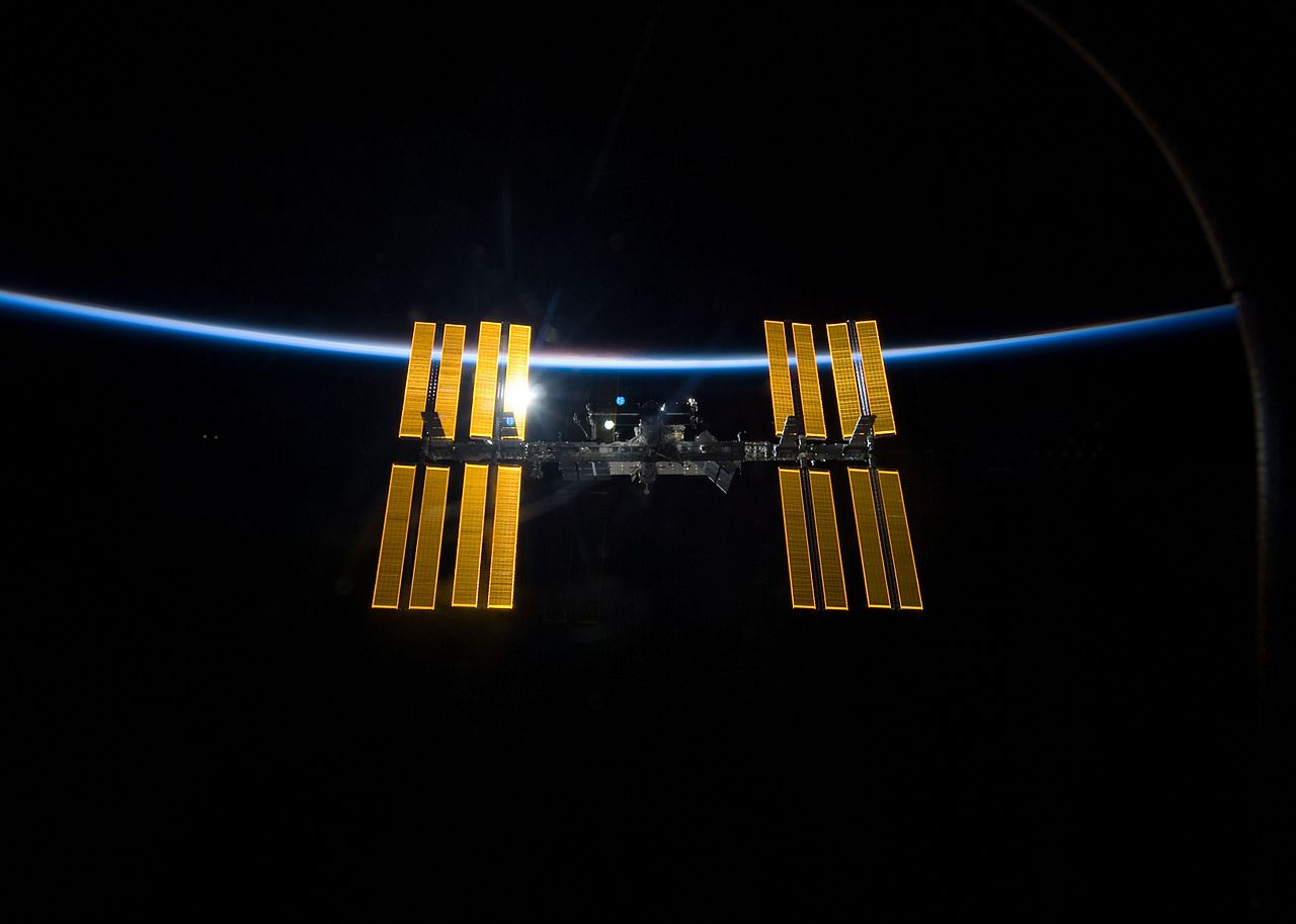 Our space station.