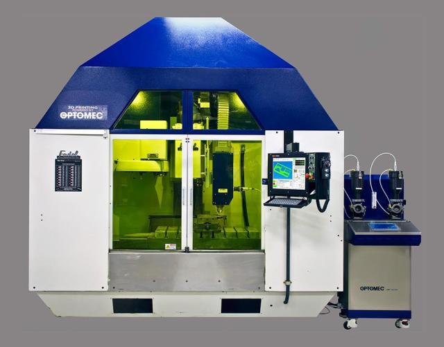 Optomec Introduces Hybrid Metal 3D Printing at Half the Cost