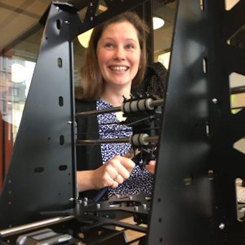 """Lyndsey Lewis – """"3d Printing Will Be Able to Mature in Places Where Production Infrastructure Is Broken"""""""