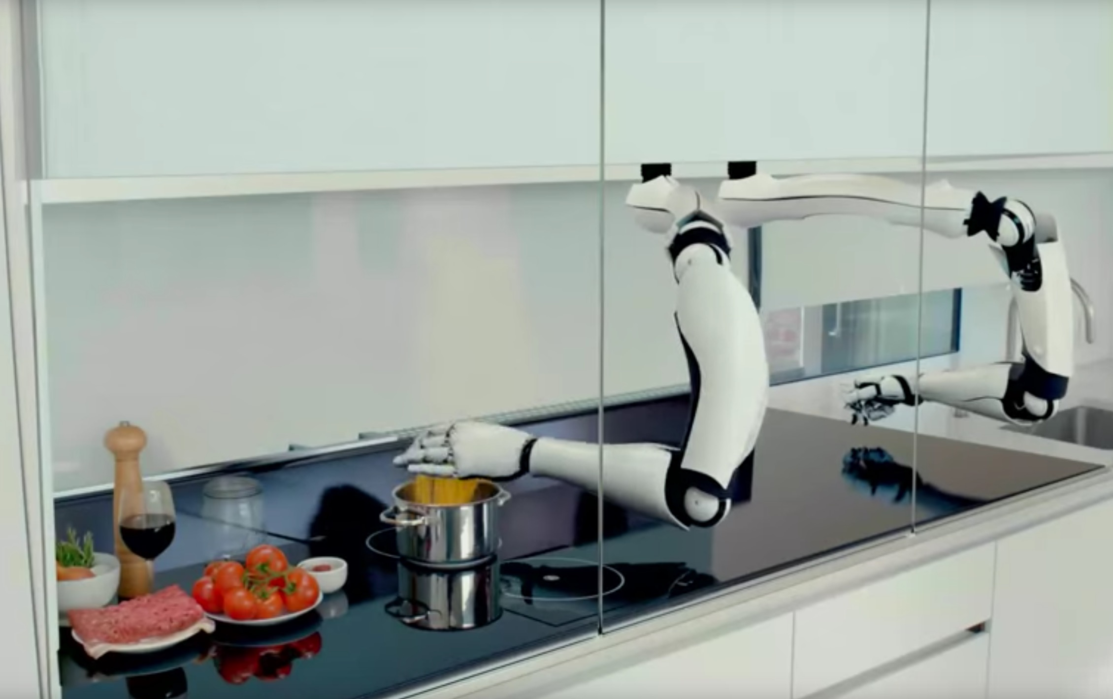 This Robot Suggests 3D Printing Automation Applications?