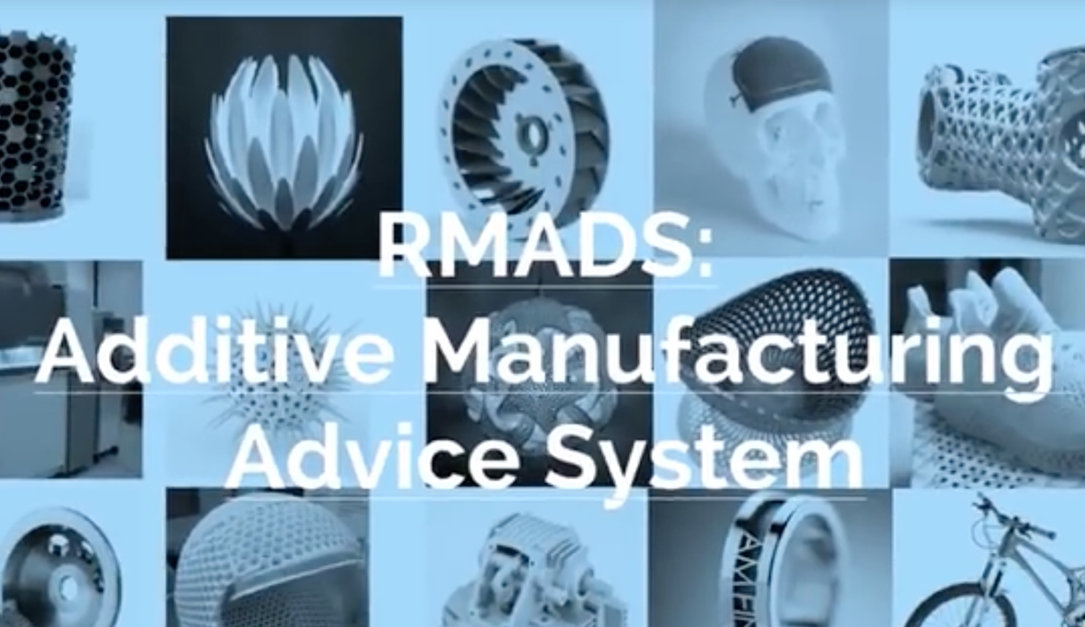 , 3D Print Community: The RMADS Rapid Manufacturing Advice System