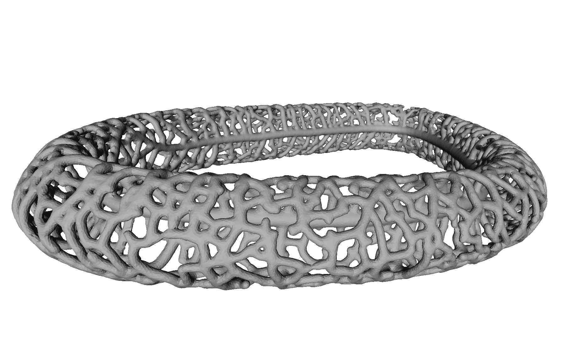 A pathological 3D model for extreme retraction