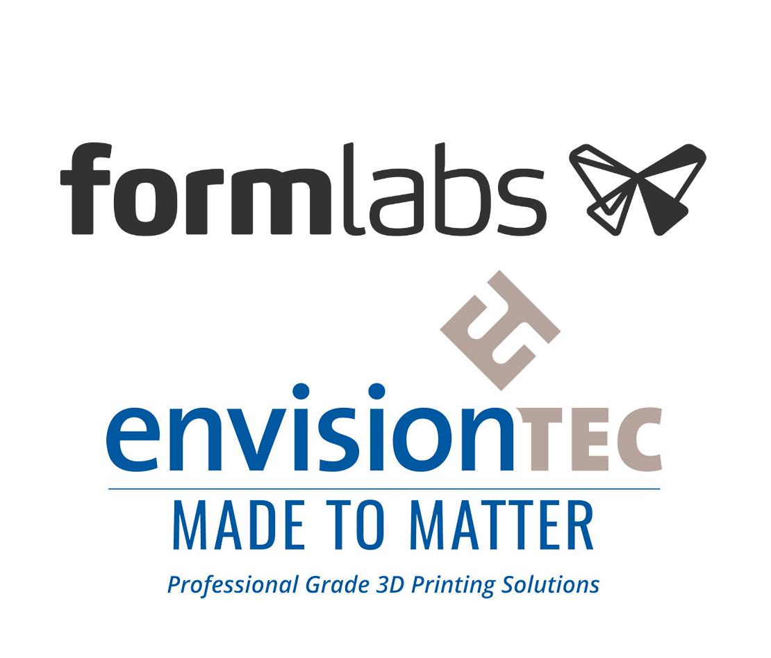 It's EnvisioinTEC vs. Formlabs