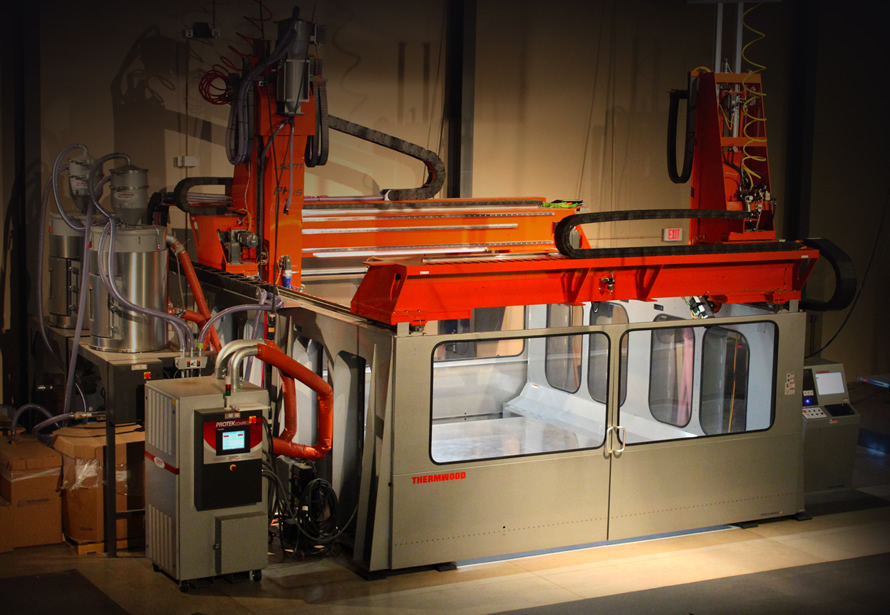 Thermwood's Monstrous 3D Printer and CNC Hybrid
