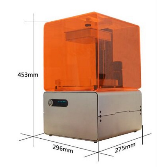 This is NOT the Formlabs Form 1 desktop 3D printer