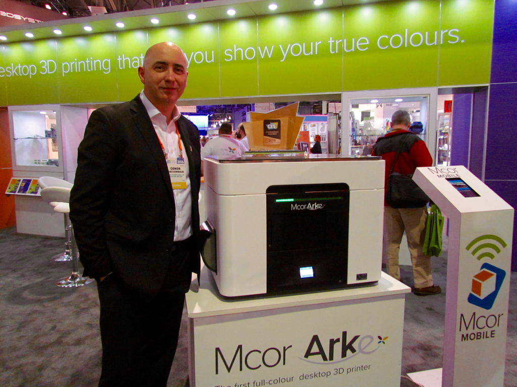 MCOR Shifts Gears on their Color 3D Printer