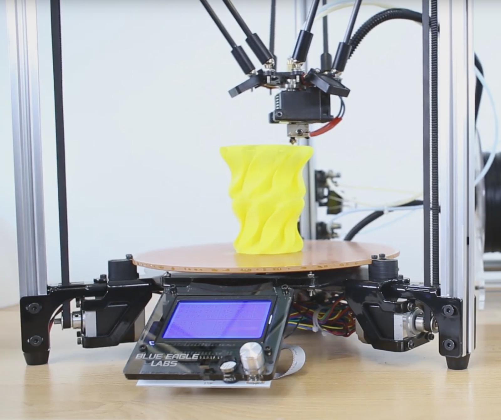 The Metal Delta is a Surprisingly Good 3D Printer Option