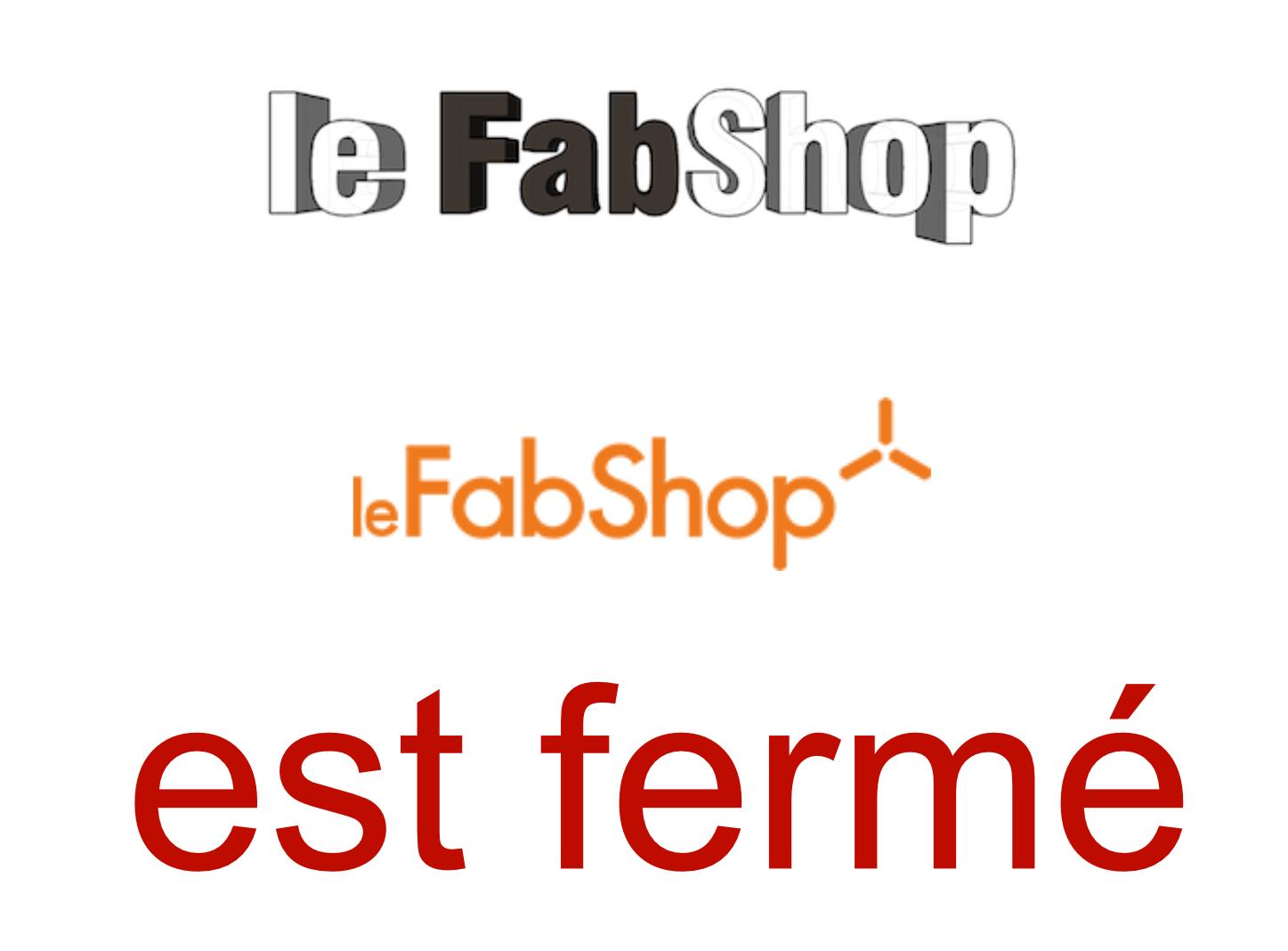 Le FabShop Shuts Down