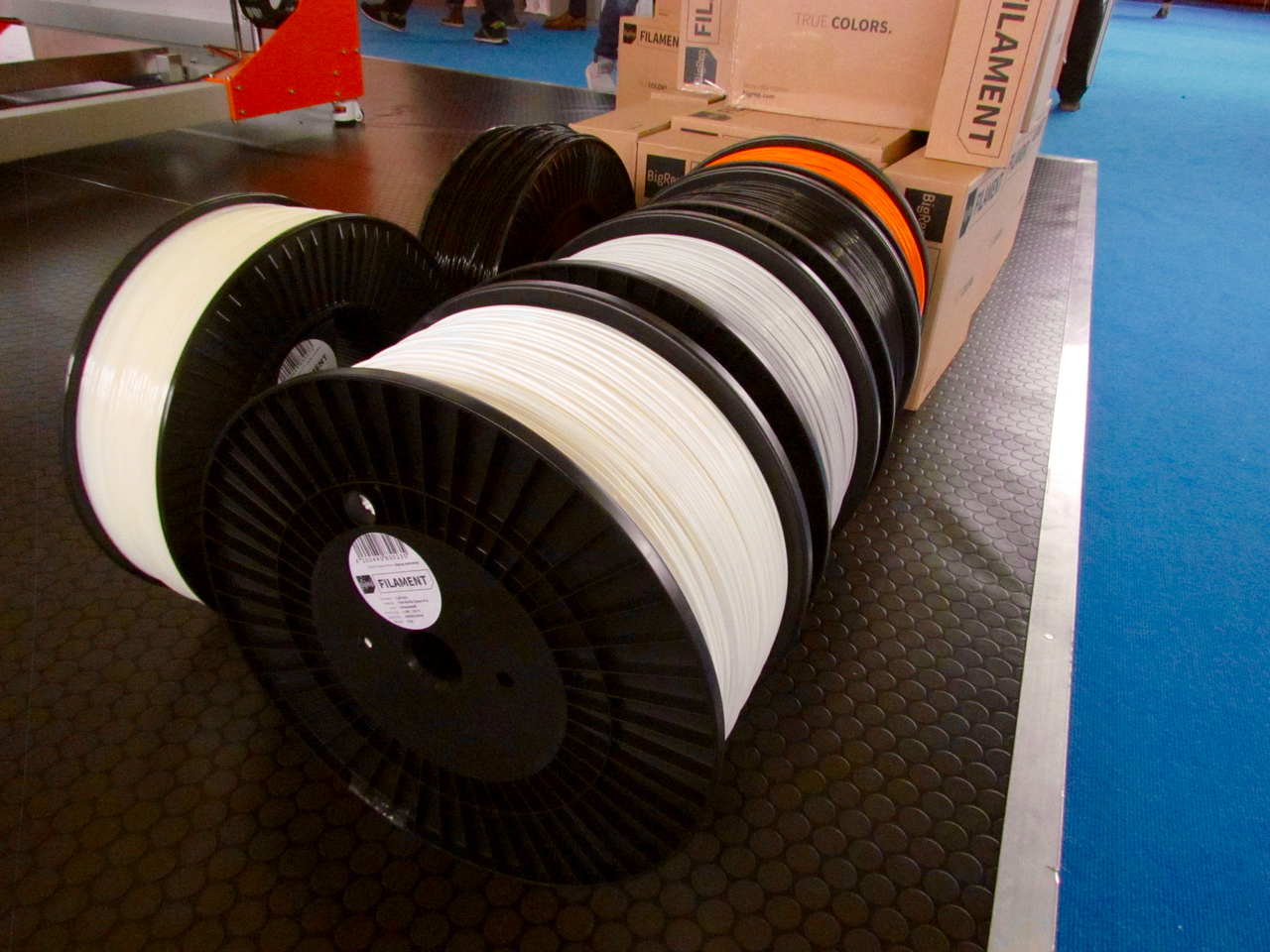 Are these 8Kg spools of 3D printer filament?