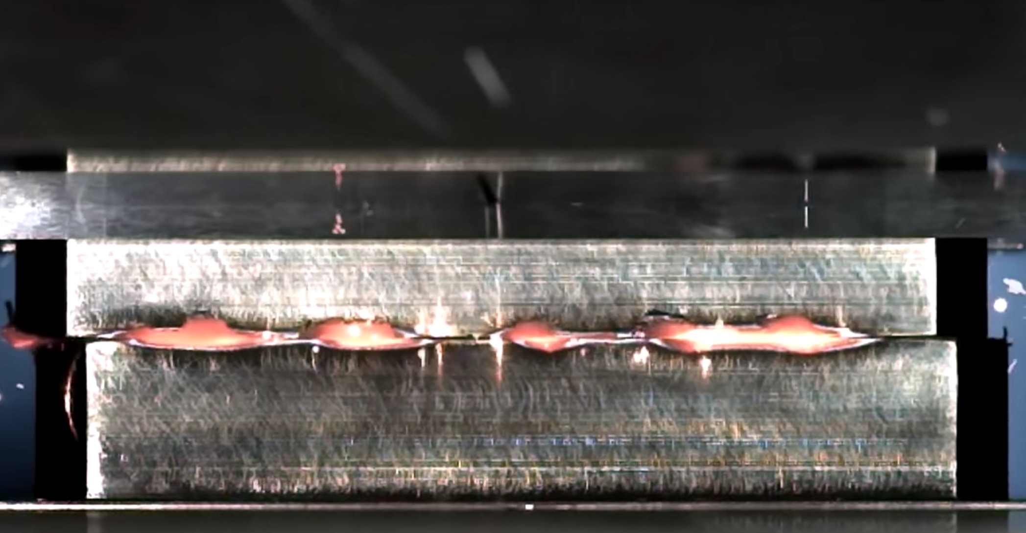 Watch the Brute Force of Linear Friction Welding in Mind-Numbing 32x Slow Motion