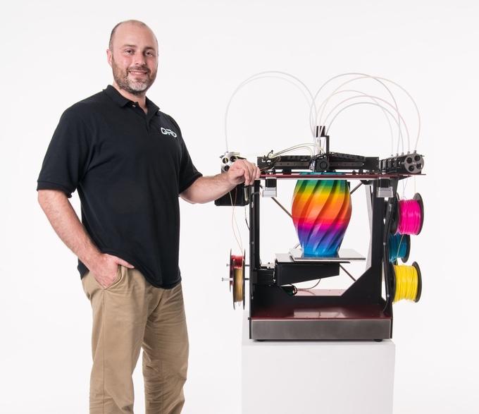 ORD's Full Color 3D Printer Now on Kickstarter