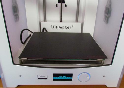 The BuildTak FlexPlate system installed in an Ultimaker