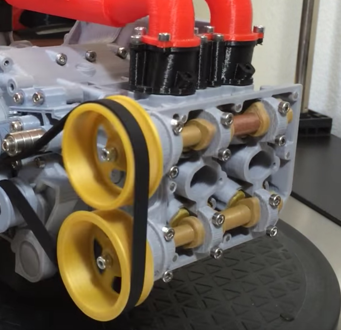 3D printed Subaru WRX EJ20 Boxer Engine