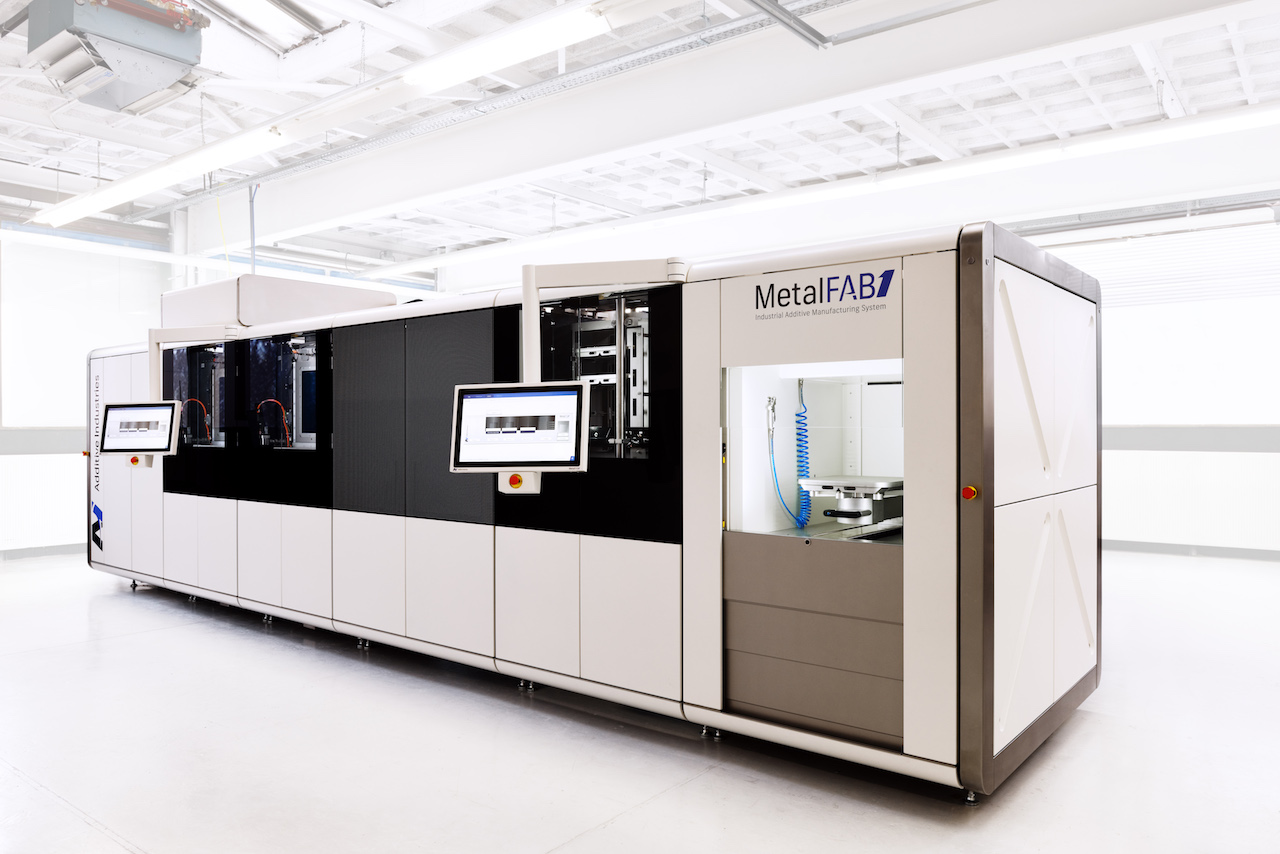 The MetalFAB1 additive manufacturing system