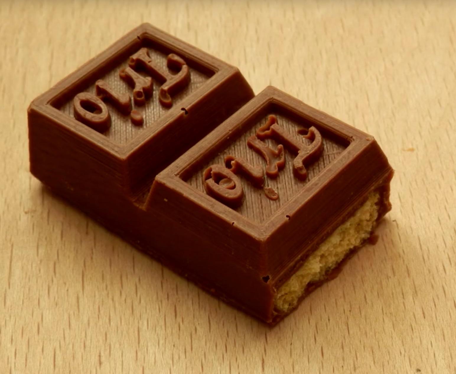 , Resurrecting an Extinct Chocolate Bar with 3D Printing