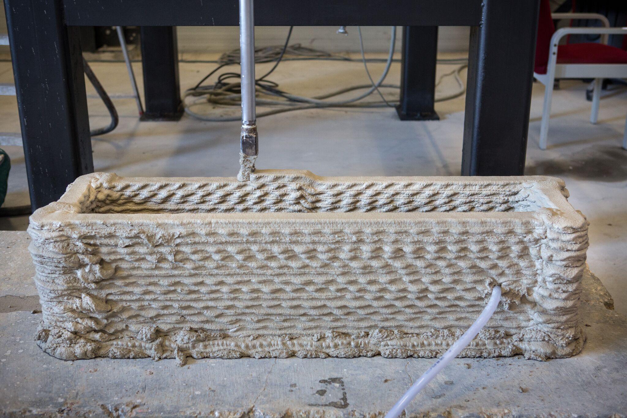 3D Printed Construction Milestone Achieved