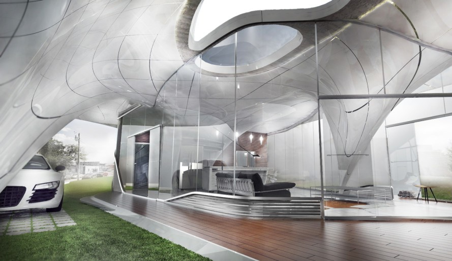 Finally A 3D Printed House That Looks Like One!