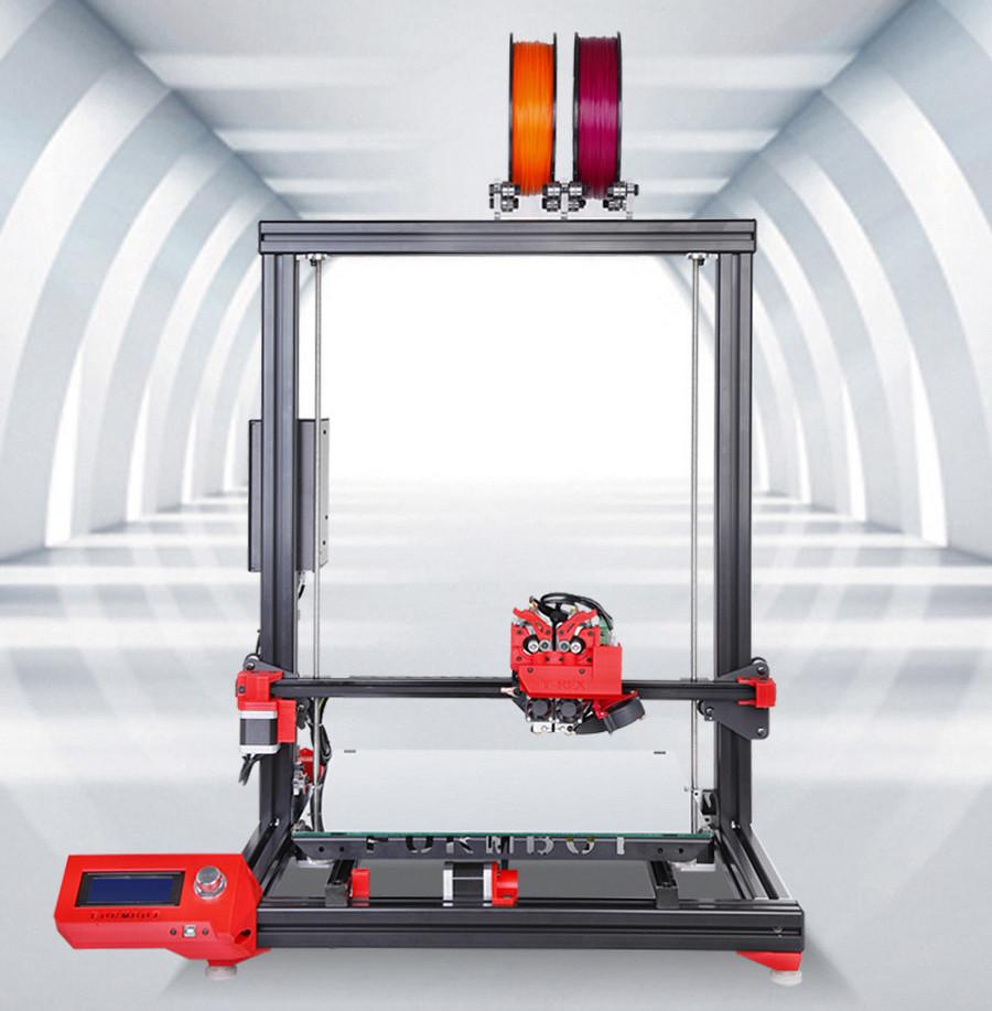 The FORMBOT T-Rex desktop 3D printer