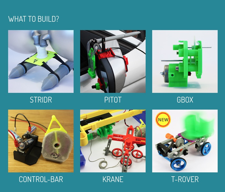 Ideal For Educators: Monthly 3D Printing Projects?