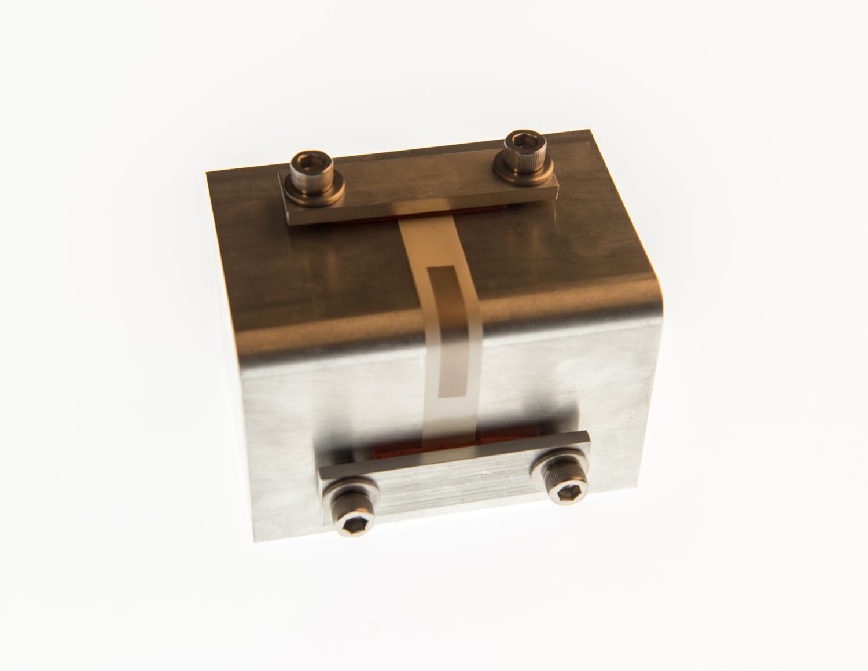 Aerosol printed circuit laid on a 3D surface