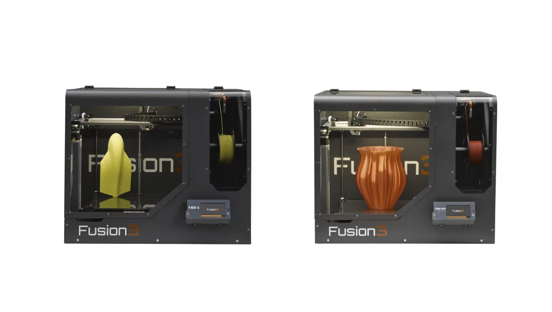 Fusion3 F400 two models: F400-S and F400-HFR