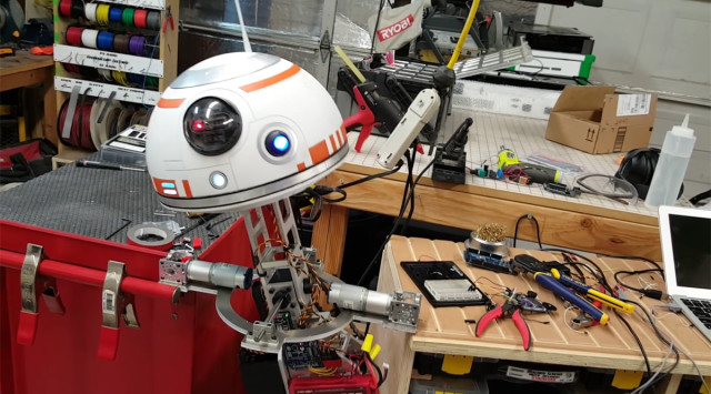 Who Knew Replicating a Functional BB-8 Would Be So Hard?