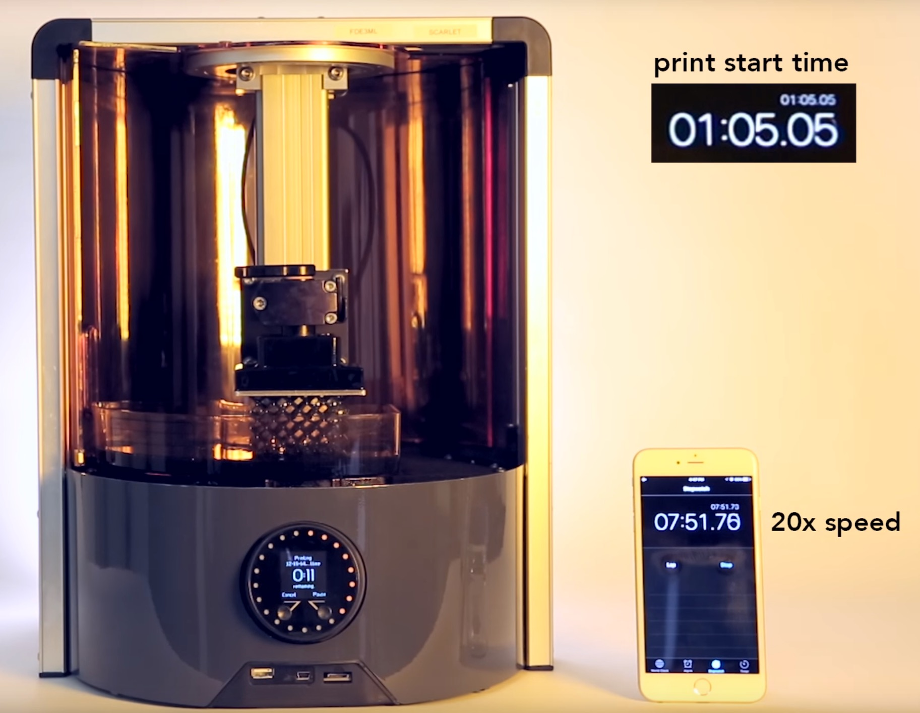 Speeding Up Any Resin 3D Printer With Autodesk's Ember Tuning