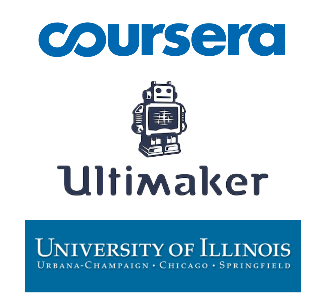 Ultimaker Partners With The University of Illinois and Coursera, Filling A Big 3D Gap
