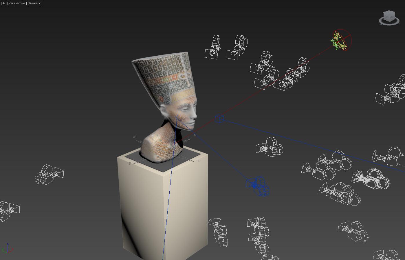 The 3D Nefertiti Hack