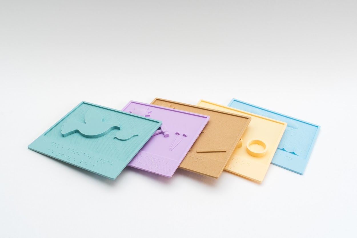 The Tactile Picture Books Project Helps Visually Impaired Children