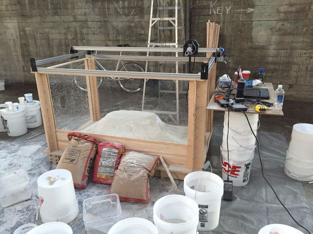 Instructions For Building A Concrete 3D Printer: But Would You Really Want To?