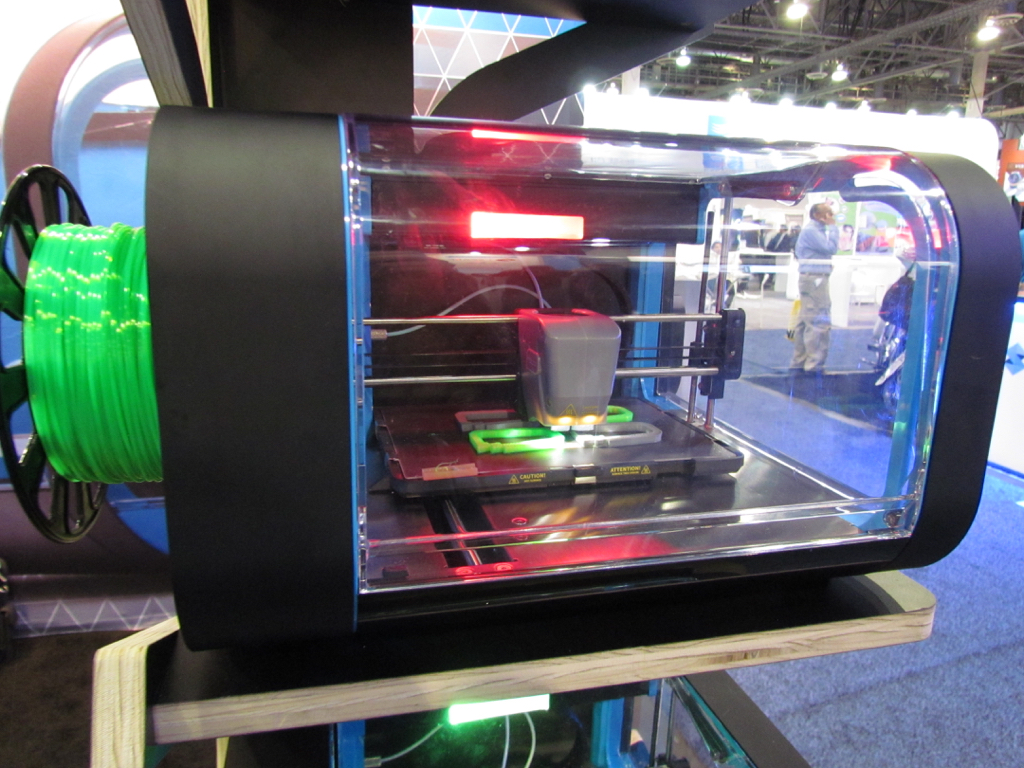 Robox Focuses On New Materials