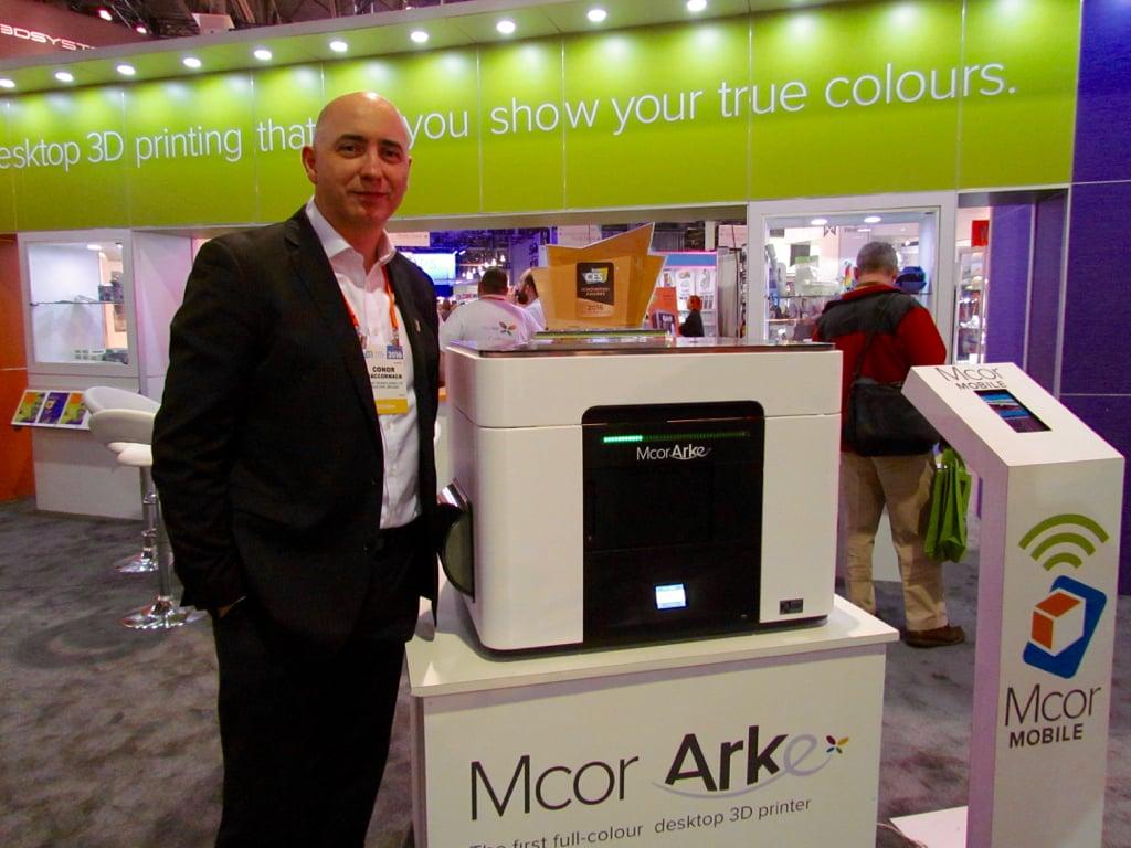 MCOR Announces A Low-Price Full Color Desktop 3D Printer: The Arke
