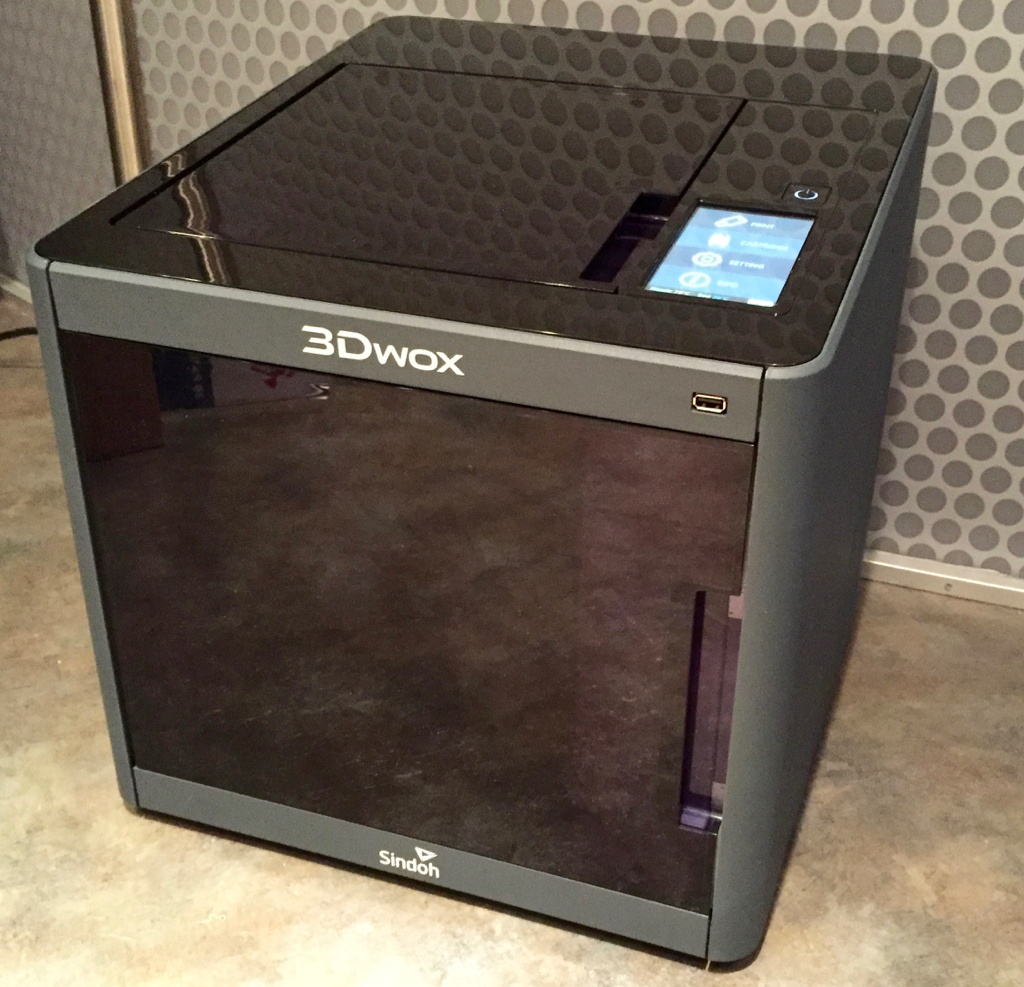 Hands On With The 3Dwox 3D Printer Part 1: The First Real 3DP For Consumers?