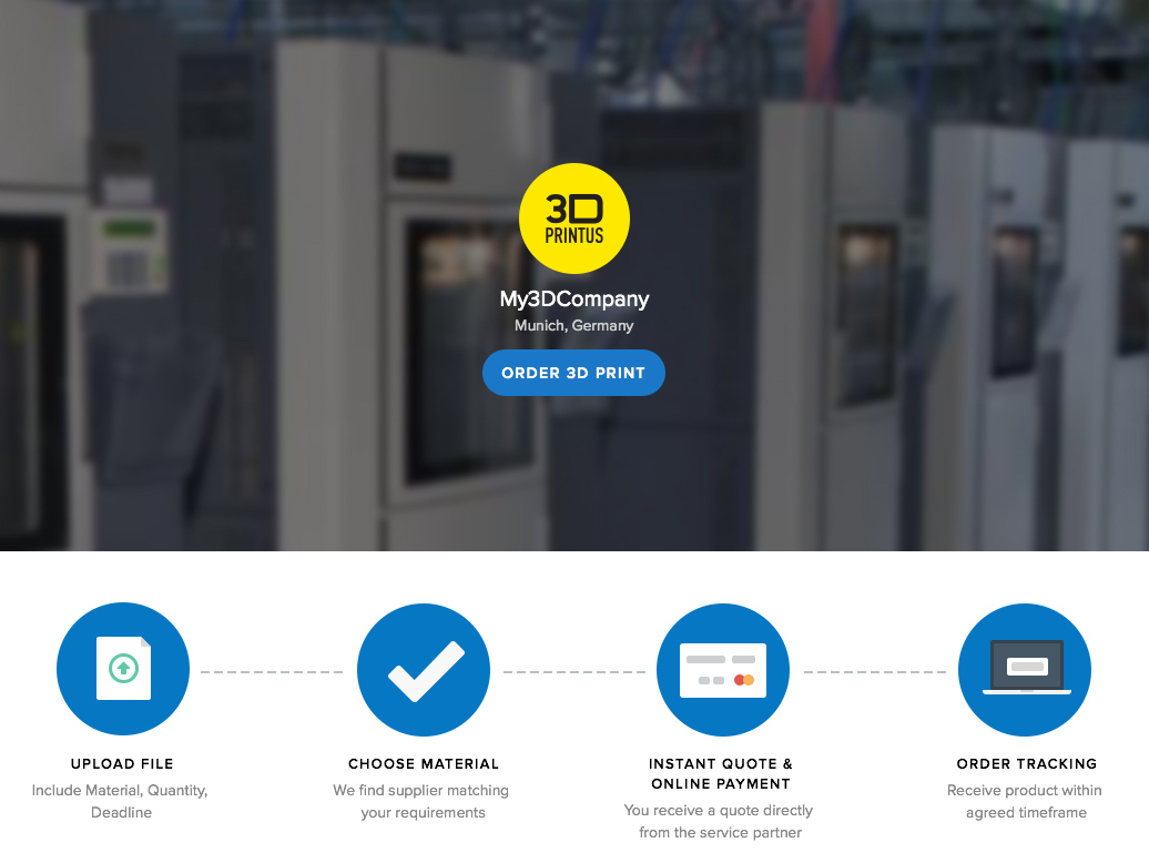 DigiFabster's 3D Print Service Solution – And A Unique Back Office Marketplace
