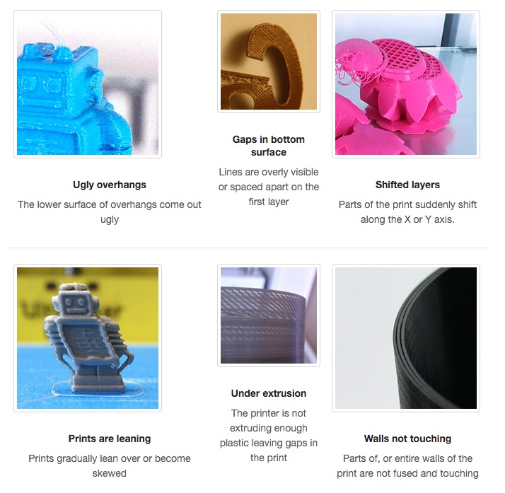 A Visual Ultimaker Troubleshooting Guide