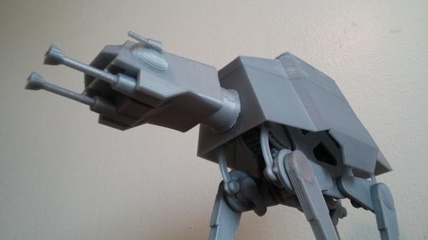 Design of the Week: Motorized Star Wars AT-AT