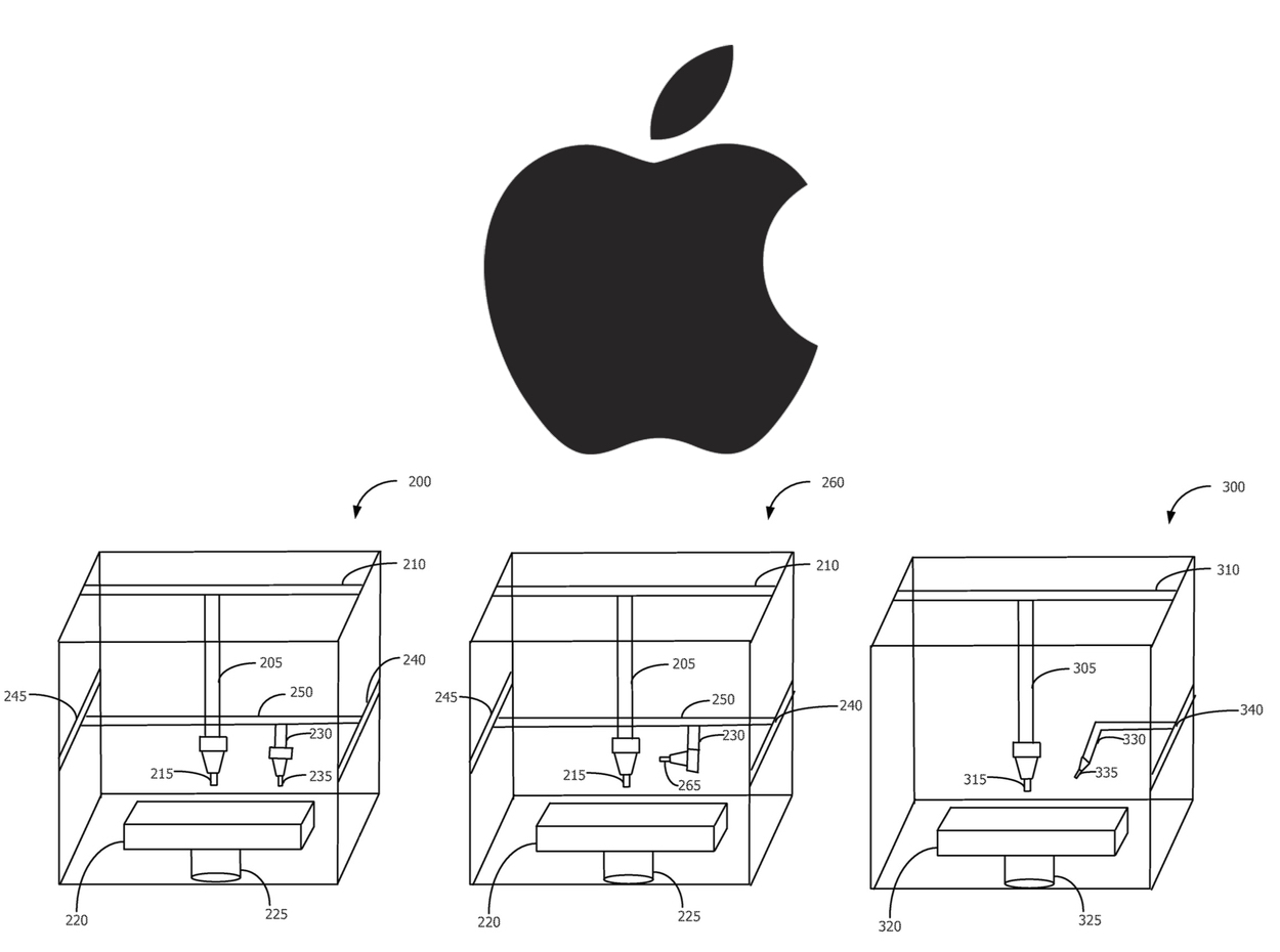 Apple Applies For 3D Printer Patent? Not Exactly