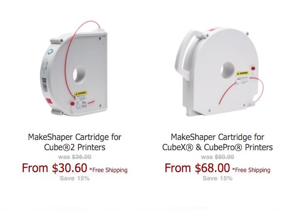 Company Provides Alternative Materials Cartridges for Cube 3D Printers
