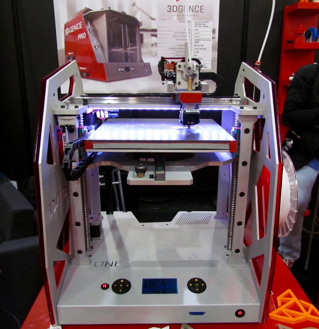 The 3DGence One 3D Printer
