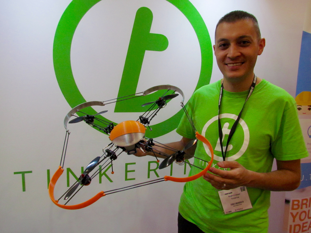 Tinkerine's Drones Are Engineered for Learning 3D Printing