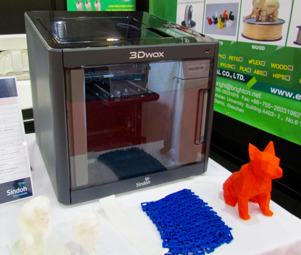 Sindoh's 3DWox 3D Printer