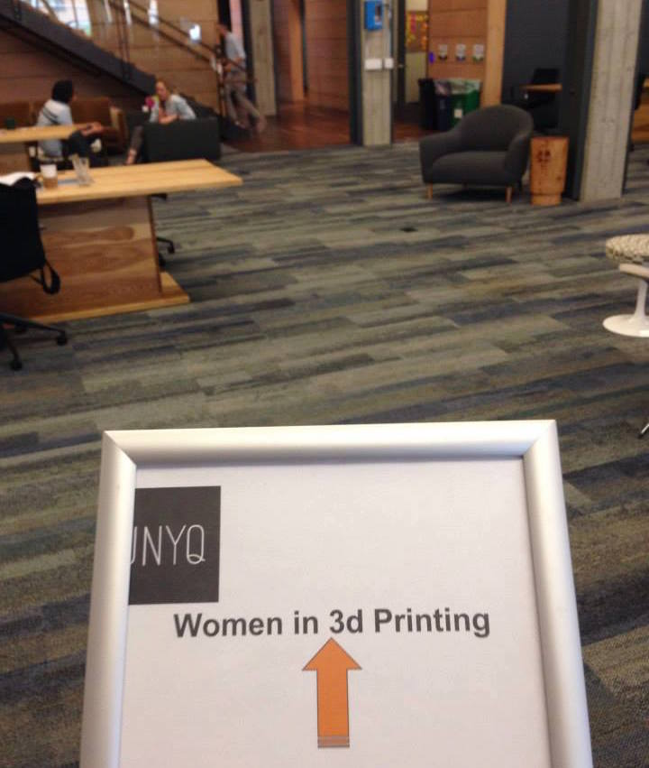 The Woman Behind Women In 3D Printing
