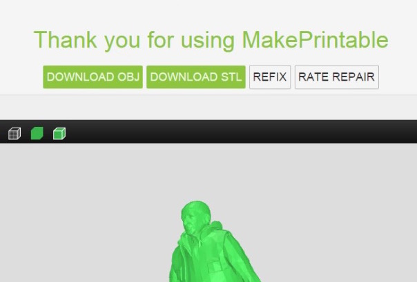 MakePrintable Developing Cloud-Based 3D Model Repair Service