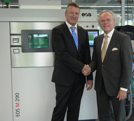 EOS Partners With GF Machining Creating Interesting Possibilities