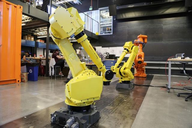 A Glimpse at Autodesk's Robotics Lab of the Future