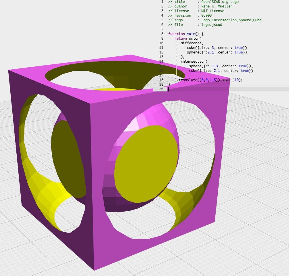 OpenSCAD or OpenJSCAD For Programmatic 3D Modeling?