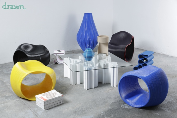 3D Printed Furniture Venture Launched by Drawn