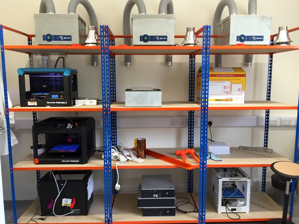 A Visit to the Imperial College Advanced Hackspace