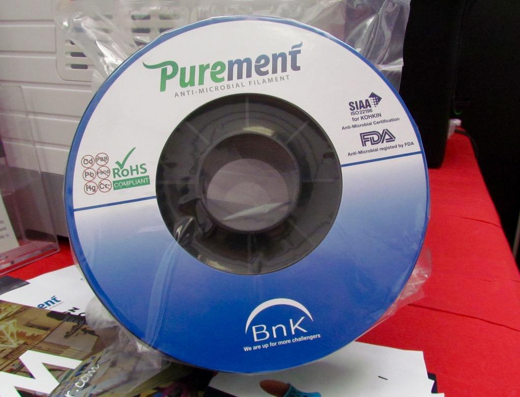 BNK's Unusual Antibacterial 3D Printer Filament